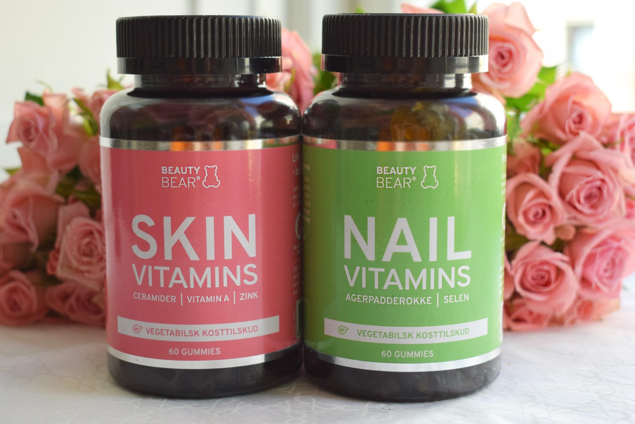 hår hud och naglar vitamin