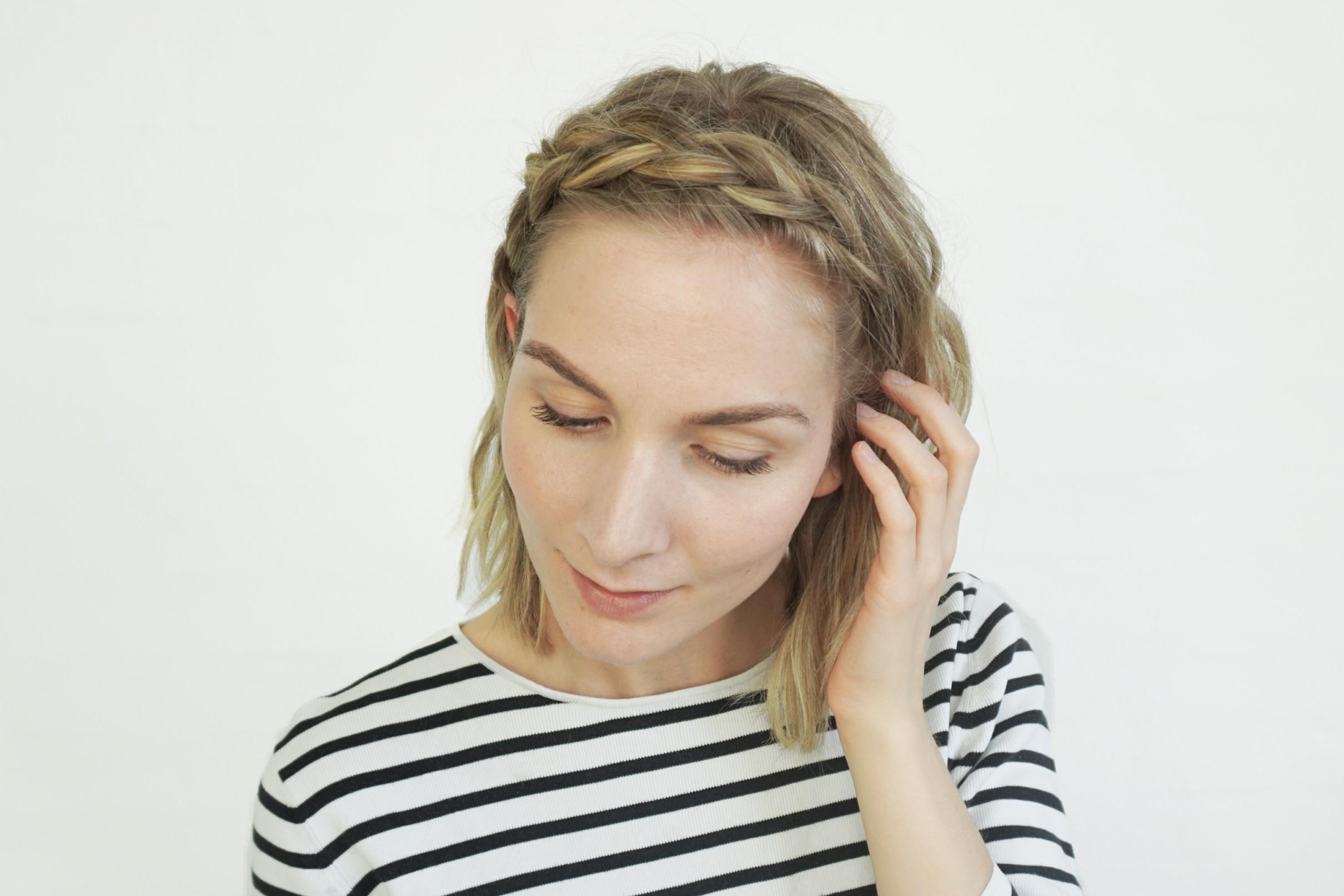 flettet hårbånd