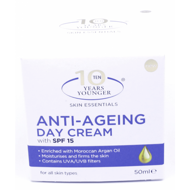 10 Years Younger Anti-Ageing Day Cream SPF15