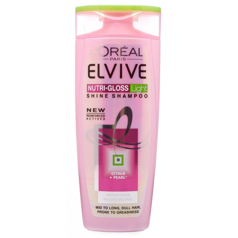 L'Oreal Elvive Nutri Gloss Shampoo Light