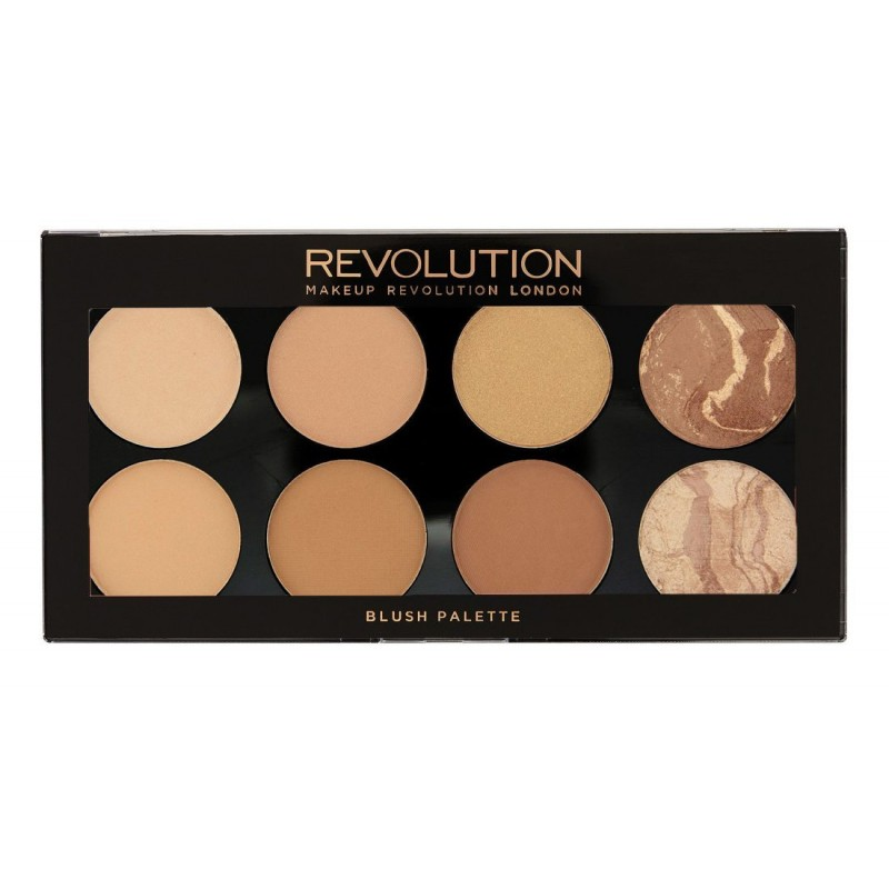 Revolution Makeup Blush & Contour Palette All About Bronze