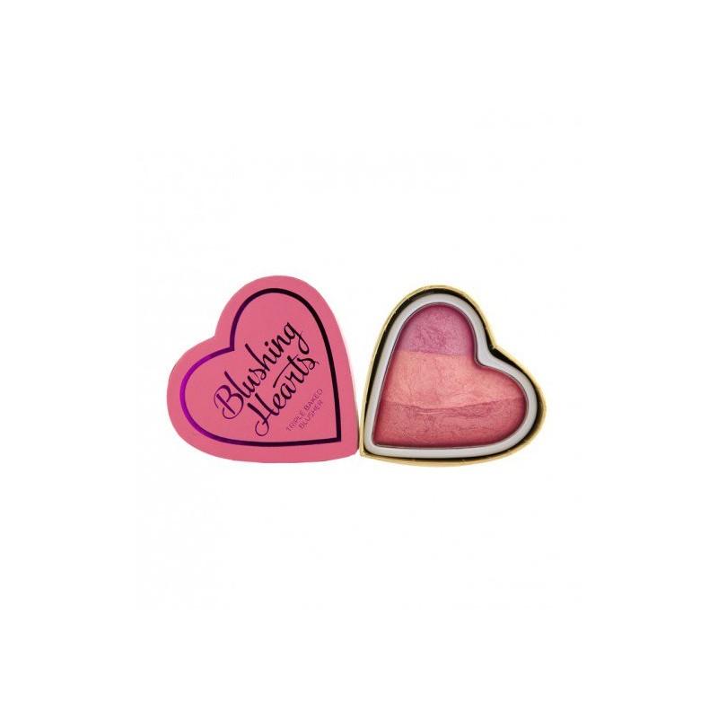 I Heart Makeup Blushing Hearts Triple Baked Blusher Blushing Heart