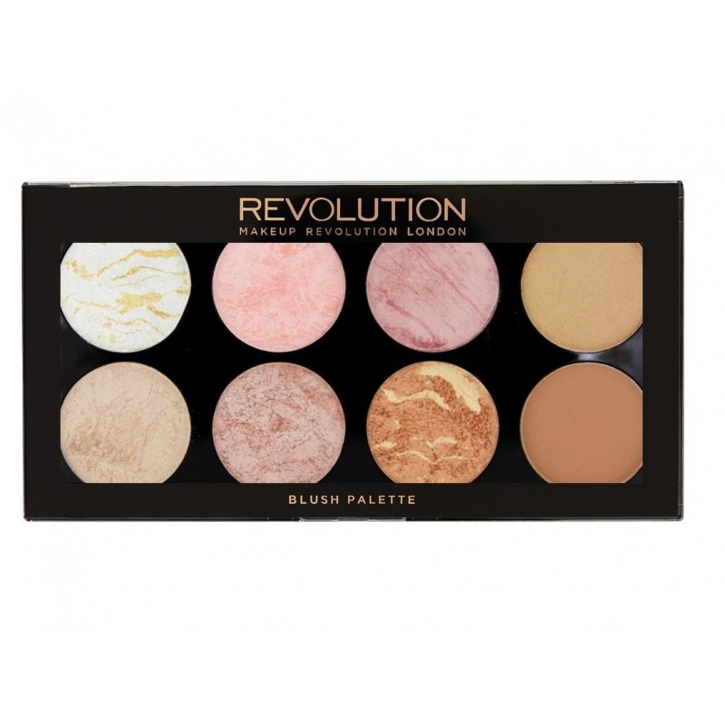 Revolution Makeup Blush & Contour Palette Golden Sugar