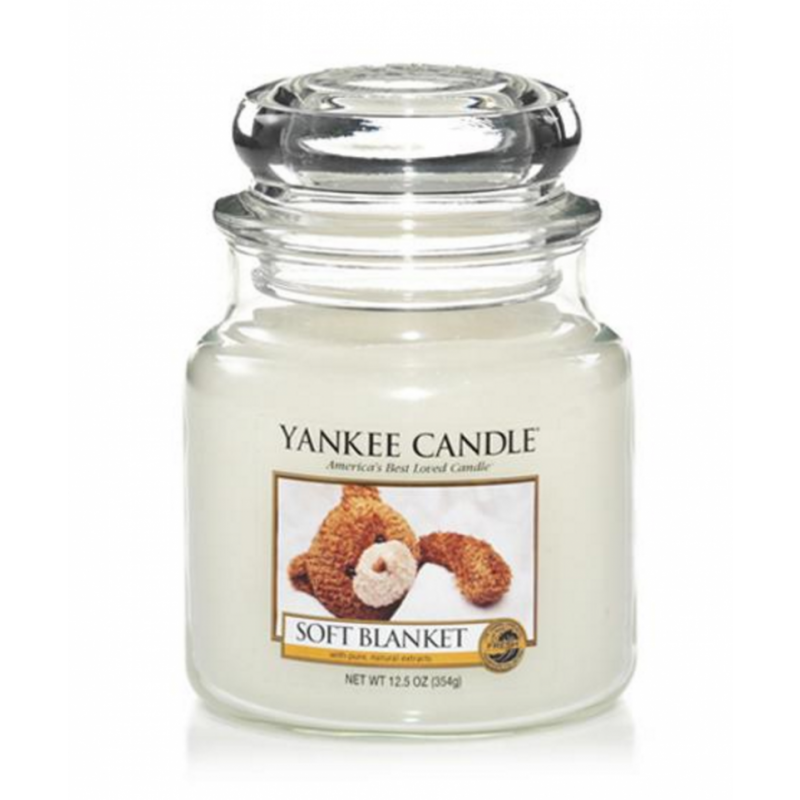 Yankee Candle  Classic Small Jar Soft Blanket Candle