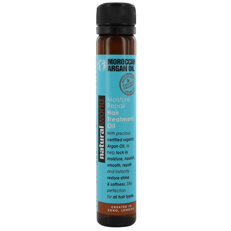 Natural World Moroccan Argan Oil Hair Treatment Oil