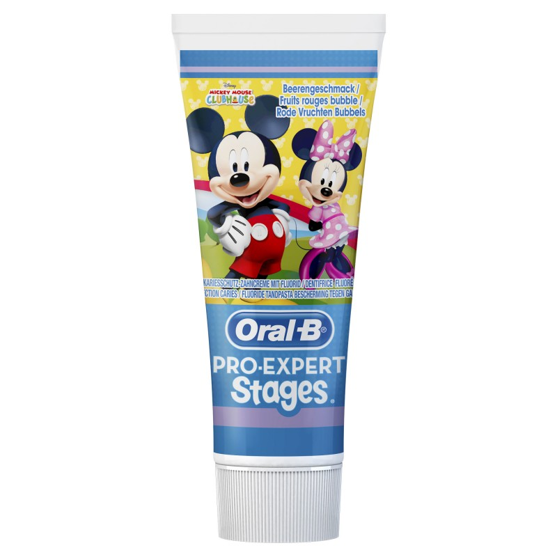 Oral-B Stages 2 Mickey Mouse Toothpaste 2-4 Years