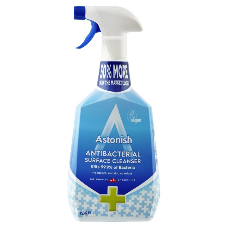 Astonish Anti Bacterial Cleanser Spray