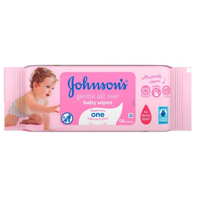 Johnson's Gentle Cleansing Baby Wipes