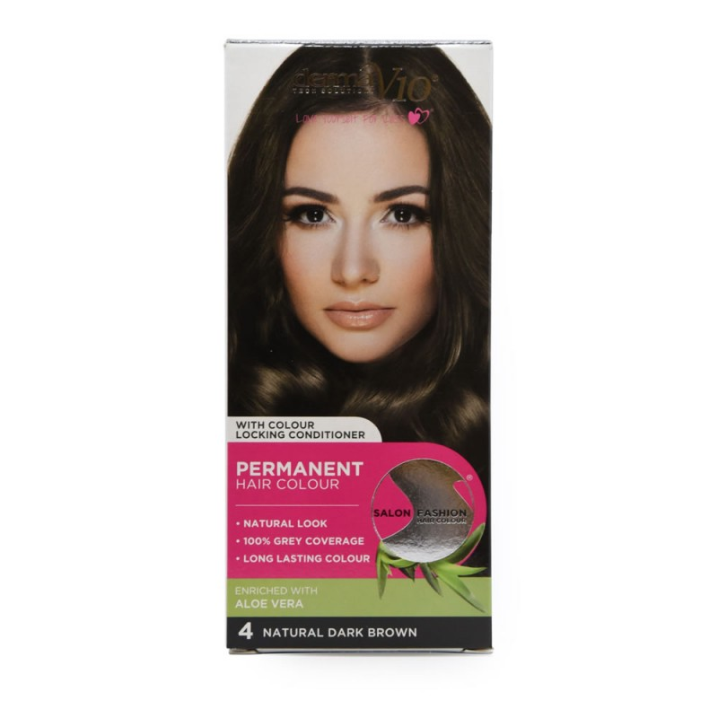 DermaV10 Salon Fashion Hair Colour Dark Brown