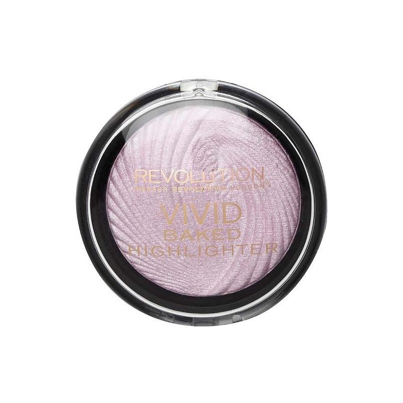 Revolution Makeup Vivid Baked Highlighter Pink Lights