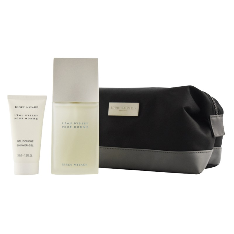 f5d7769989 Issey Miyake L'Eau d'Issey Pour Homme EDT & Shower Gel & Toilet Bag. Gift  Set ⋅ ⋅ 75 ml ...