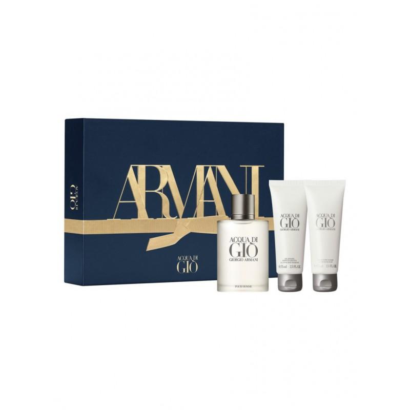 Giorgio Armani Acqua Di Gio EDT & Showergel & Aftershavebalm