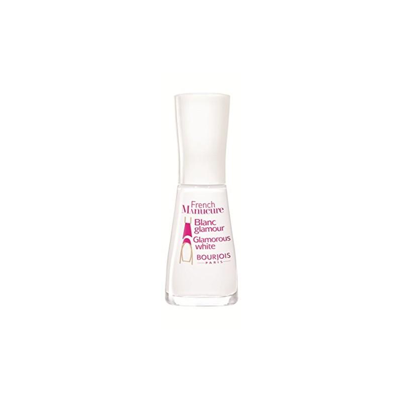 Bourjois French Manicure Nail Polish 91 Blanc Glamour 10 ml - £1.95