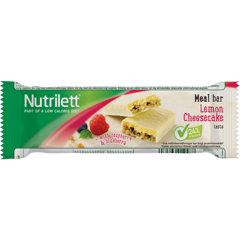 Nutrilett Lemon Cheesecake Bar