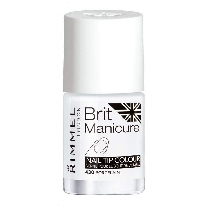 Rimmel Brit Manicure Nailpolish Porcelain 430