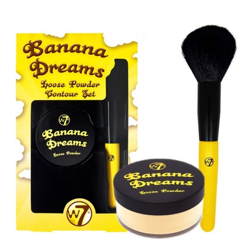 W7 Banana Dreams Loose Powder Contour Set