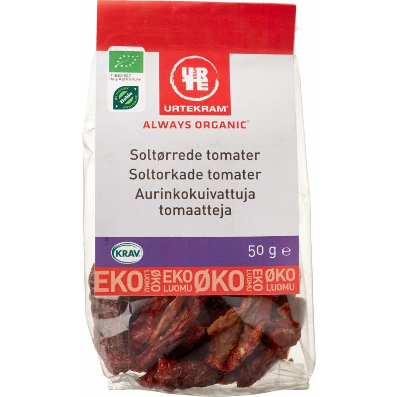 Urtekram Soltørrede Tomater Øko