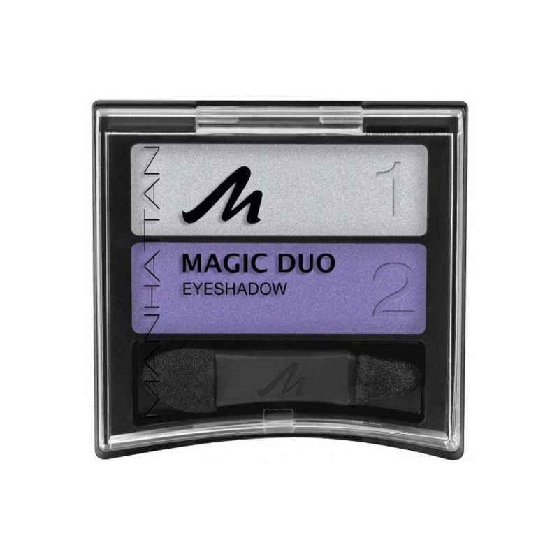Manhattan Duo Magic Eyeshadow 67H Popping Plum