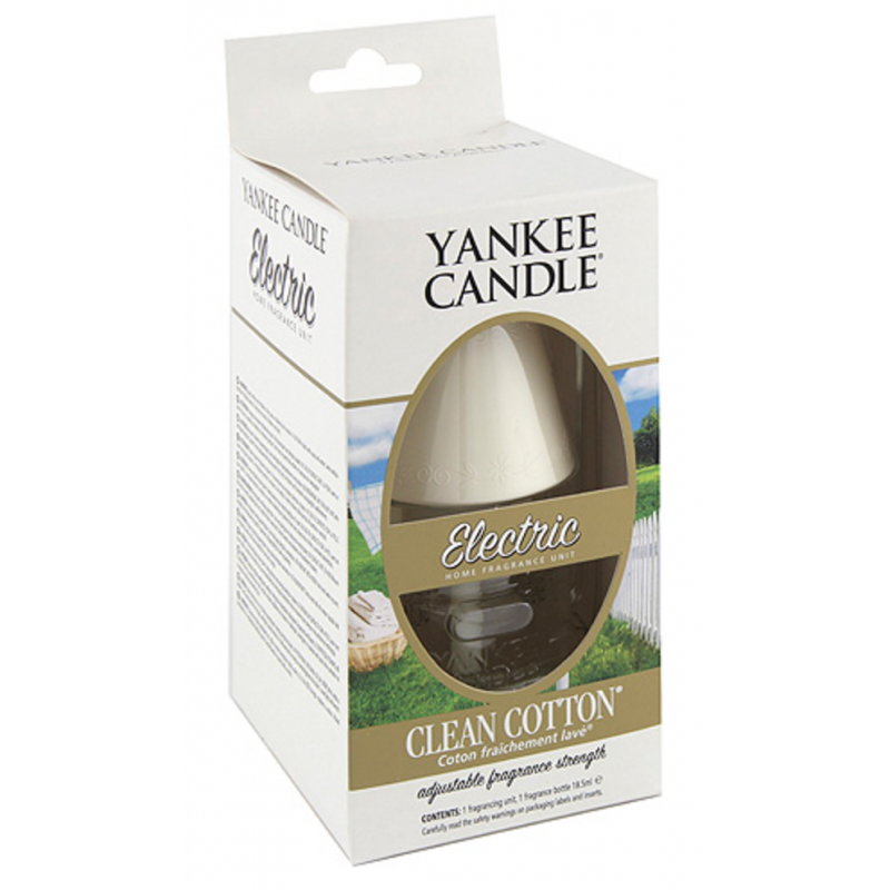 Yankee Candle  Electric Scent Plug Clean Cotton
