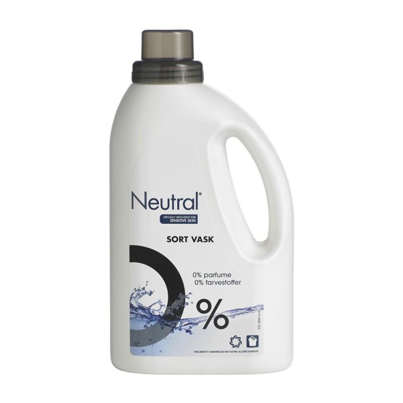 Neutral Nestemäinen Pyykinpesuaine Mustalle Pyykille