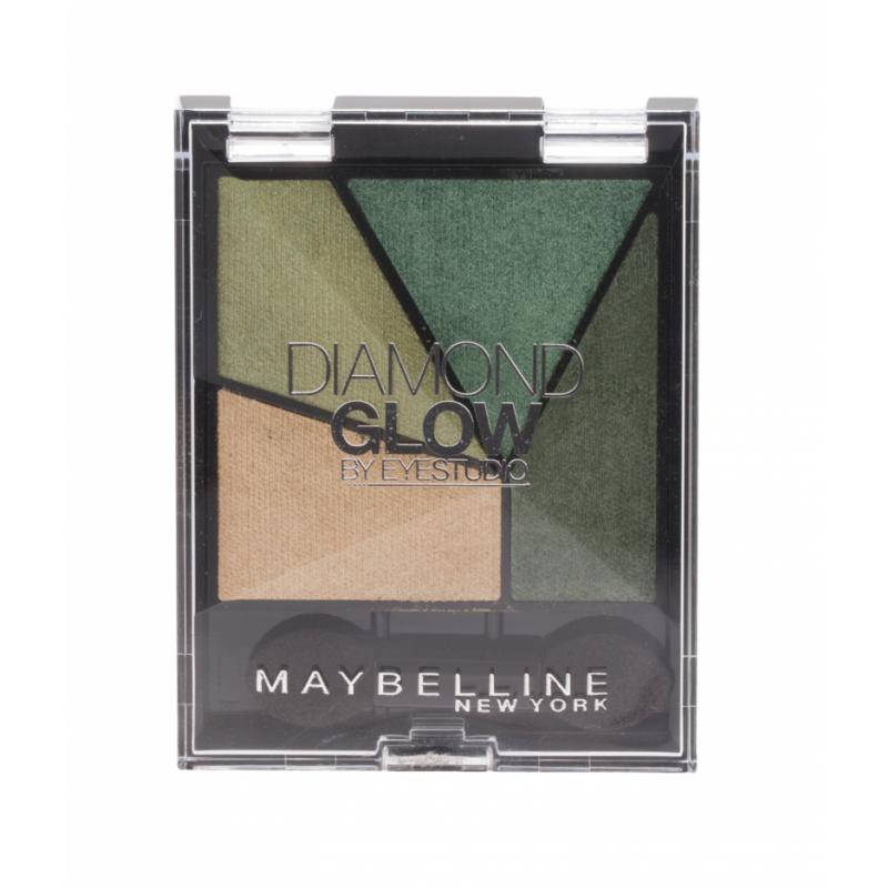 Maybelline Diamond Glow Quad Eye Shadow 05 Forrest Drama