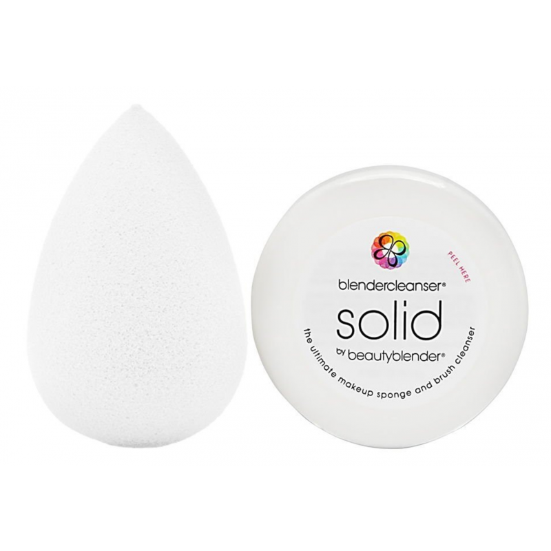 The Original Beautyblender  Beautyblender Pure White & Mini Solid Cleanser