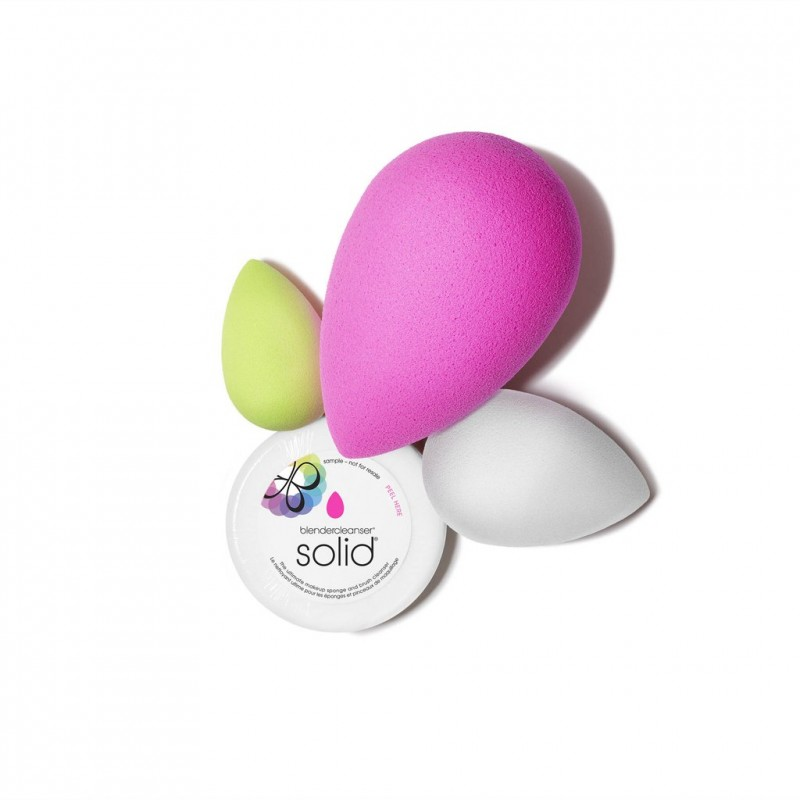 The Original Beautyblender  All About Face Beautyblender & Mini Solid Cleanser