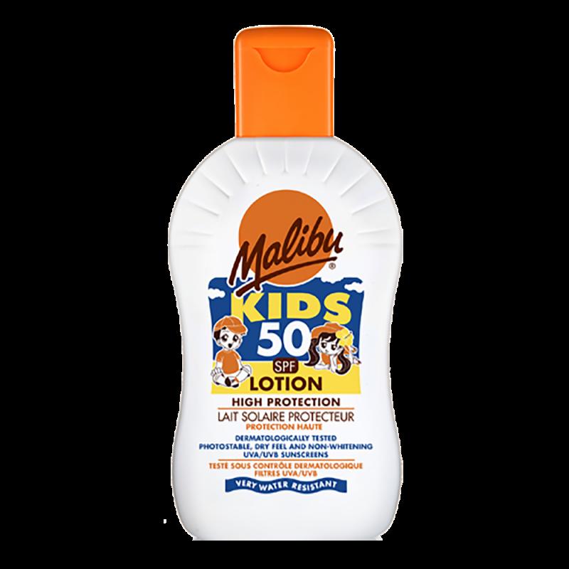 Malibu High Protection Kids Lotion SPF50