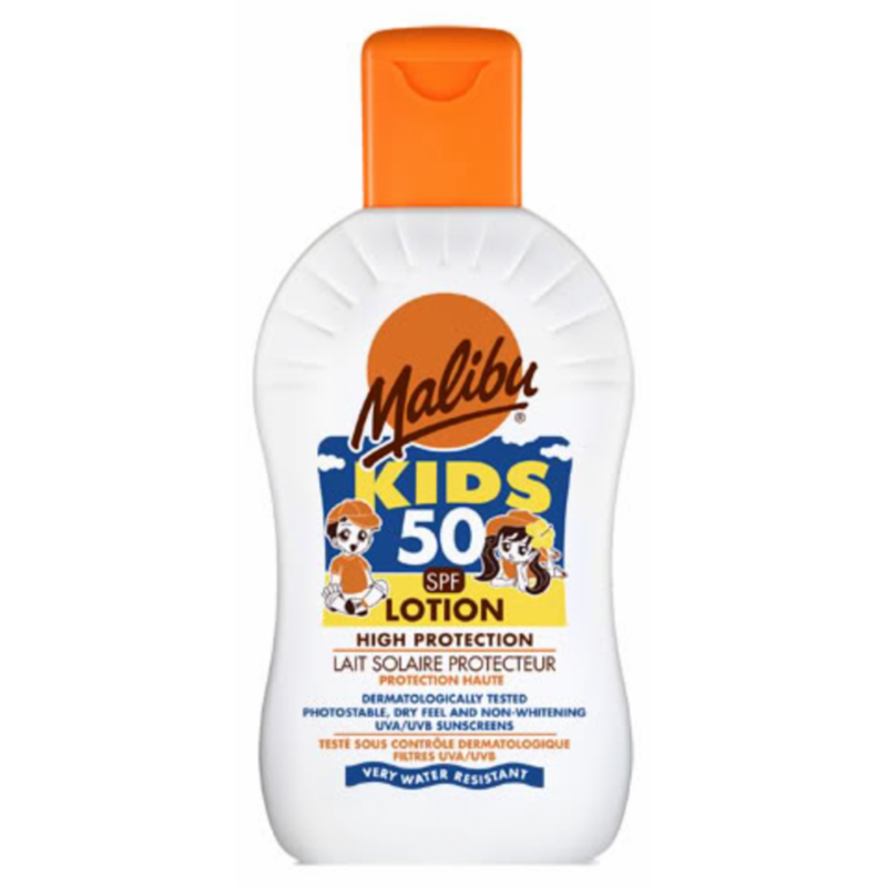Malibu High Protection Kids Lotion SPF50