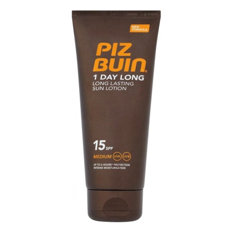 Piz Buin 1 Day Long Lasting Sun Lotion SPF15