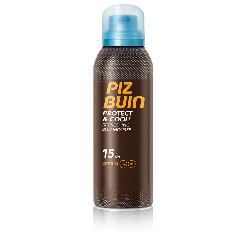 Piz Buin Protect & Cool Sun Mousse SPF15