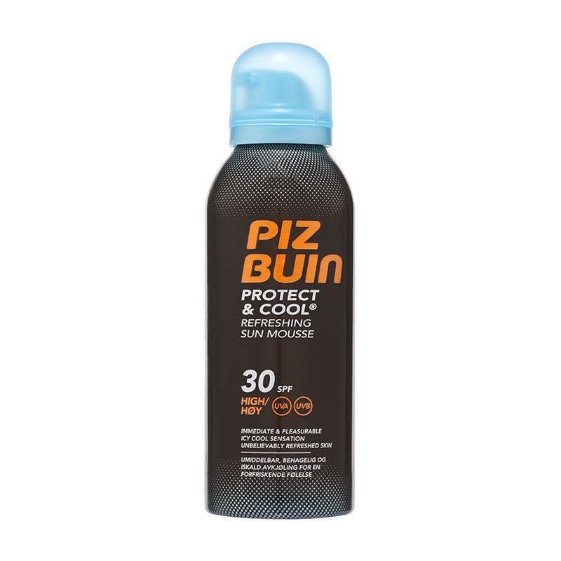 Piz Buin Protect & Cool Sun Mousse SPF30