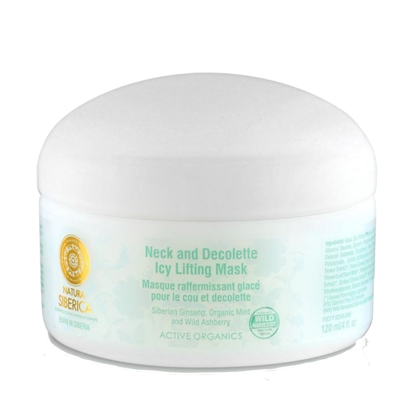 Natura Siberica Neck & Decolette Icy Lifting Mask