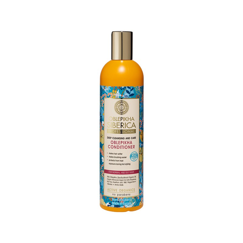 Natura Siberica Oblepikha Deep Cleansing & Care Conditioner