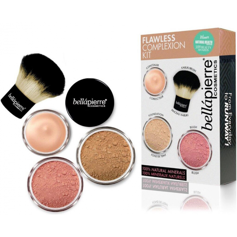 Bellápierre Cosmetics Flawless Complexion Kit Dark