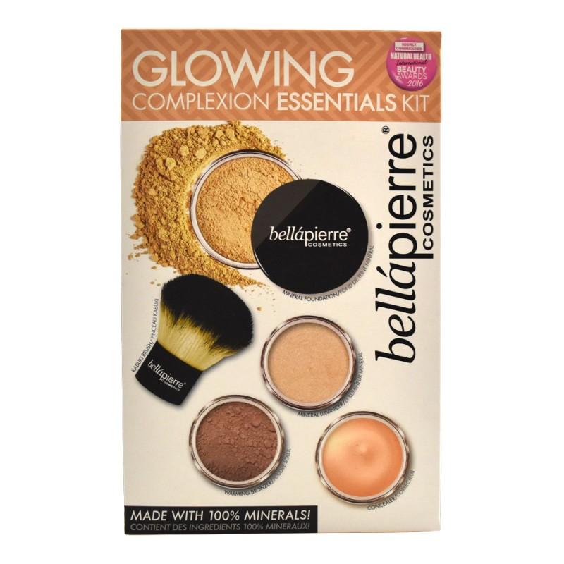 Bellápierre Cosmetics Glowing Complexion Essentials Kit Fair