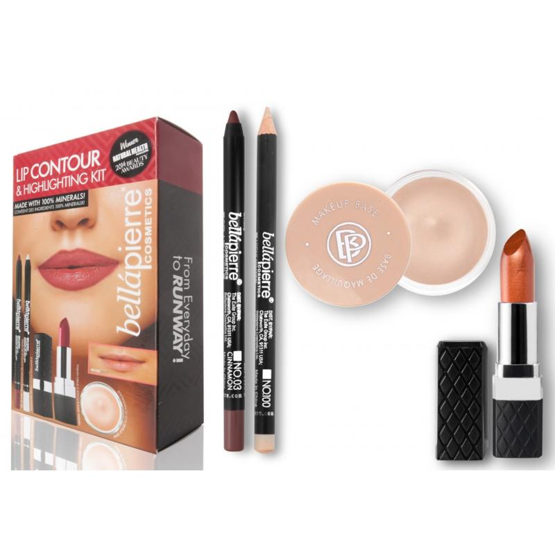 Bellápierre Cosmetics Lip Contour & Highlighting Kit Fierce