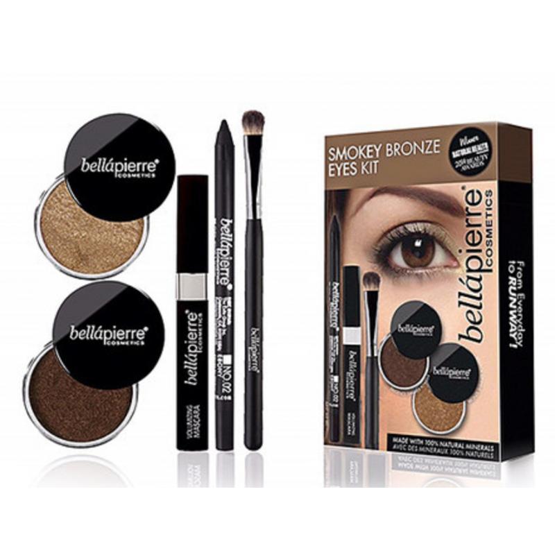 Bellápierre Cosmetics Smokey Bronze Eyes Kit