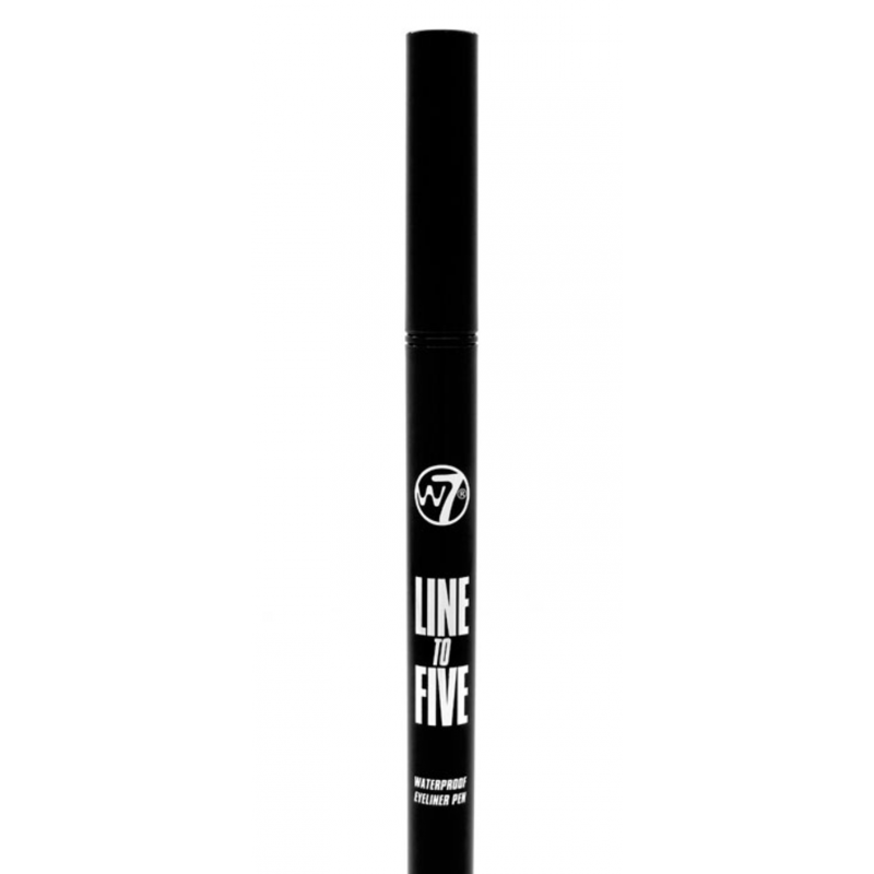 W7 Line To Five Waterproof Eyeliner Pen Black