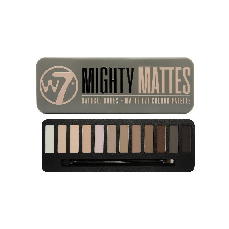 W7 Mighty Mattes Eye Palette