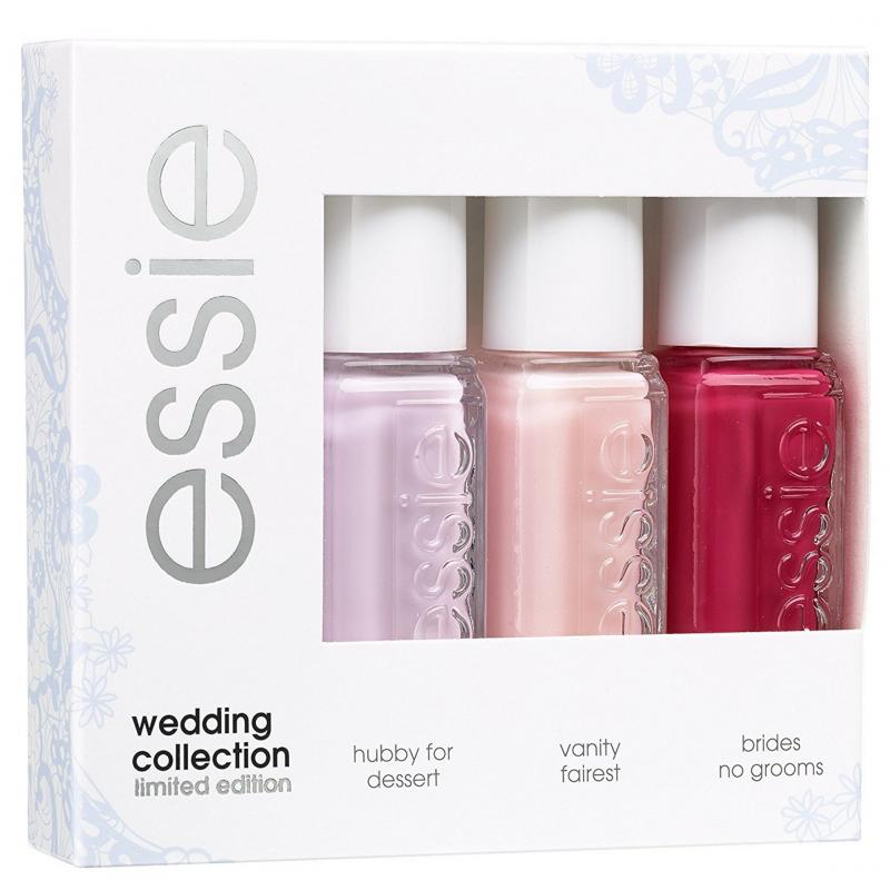 Essie Nail Polish 3 Piece Set Wedding Collection 3 x 5 ml - £7.45