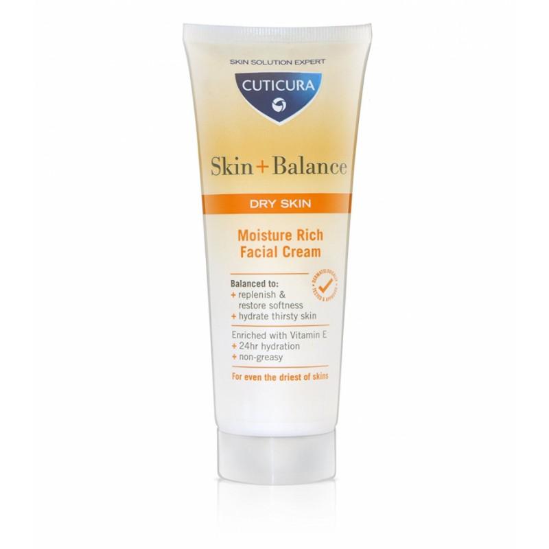 Cuticura Skin + Balance Moisture Rich Facial Cream Dry Skin