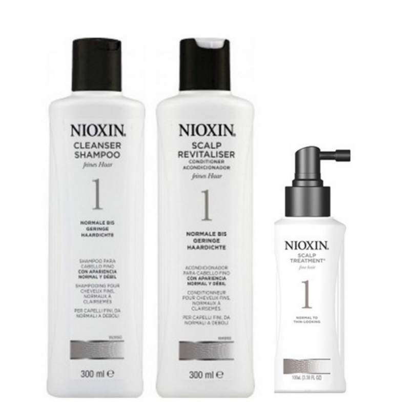 Nioxin Starter Set System 1 For Fine Hair