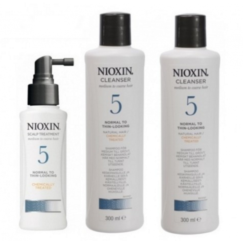 Nioxin Starter Set System 5 For Frizzy Untreated