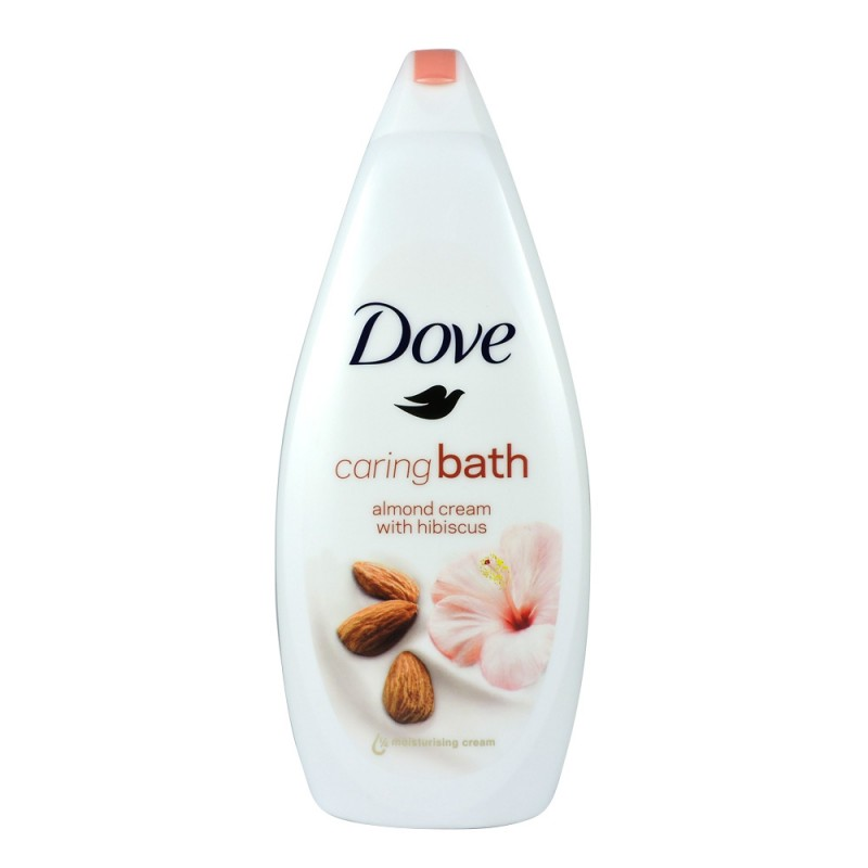 Dove Caring Bath Almond Cream Shower Gel