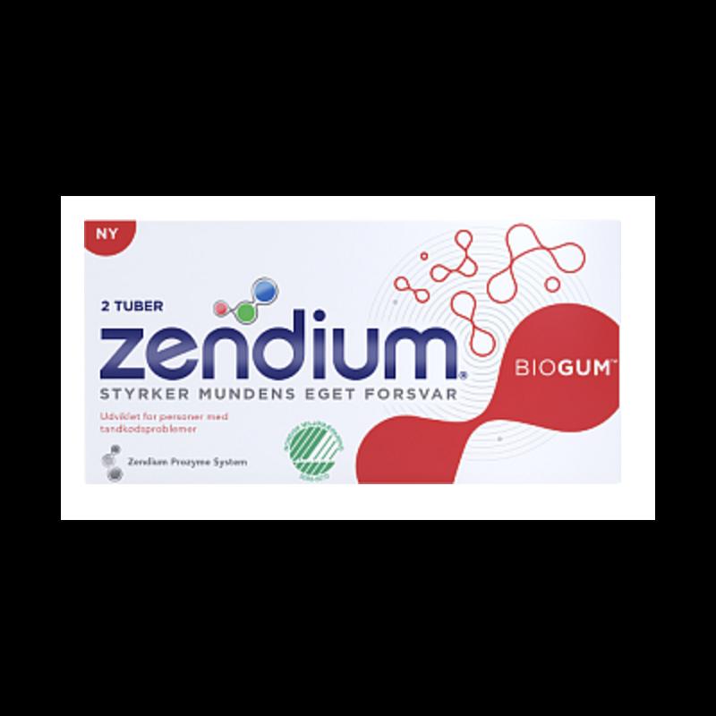 Zendium Biogum 2-pak Tandpasta