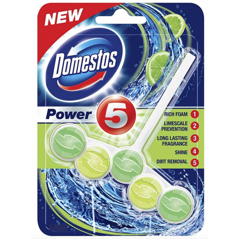 Domestos Toiletblok Power 5 Lime