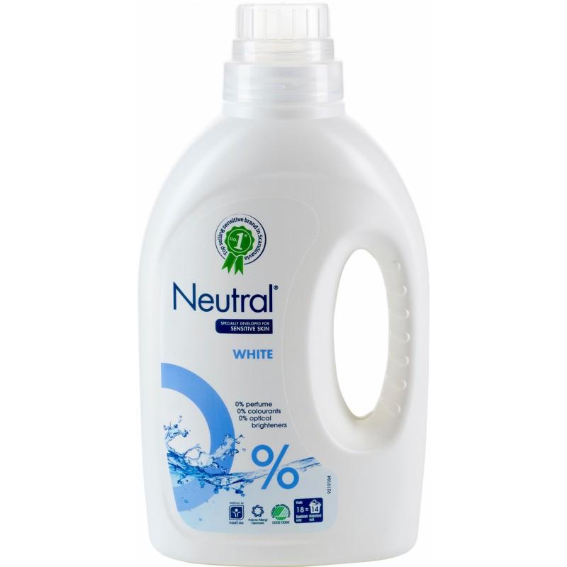 Neutral Tvättmedel Flytande White
