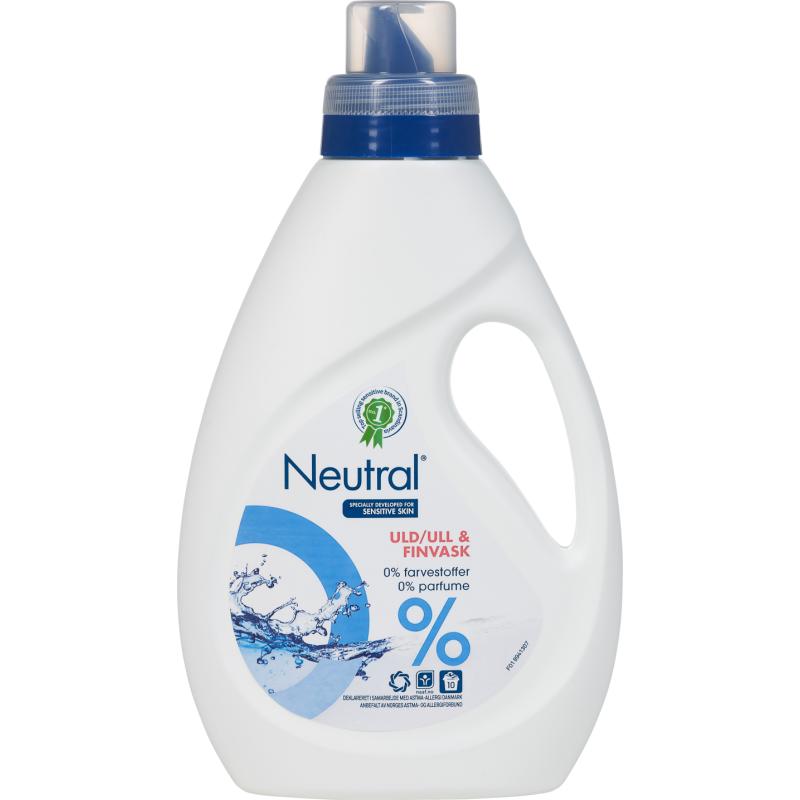 Neutral Flytande Ull & Fintvätt