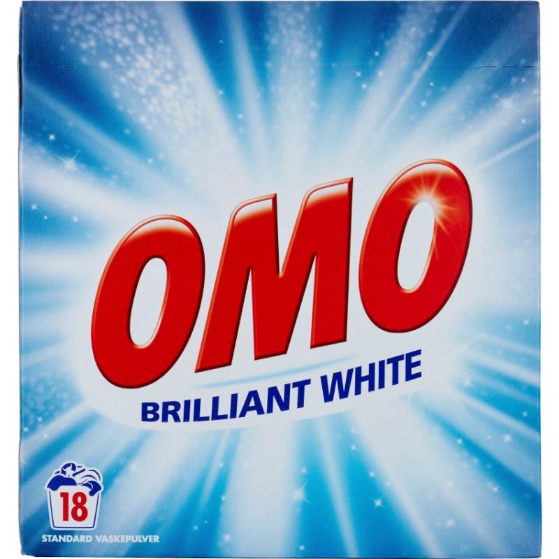 Omo Standard Vaskepulver Brilliant White
